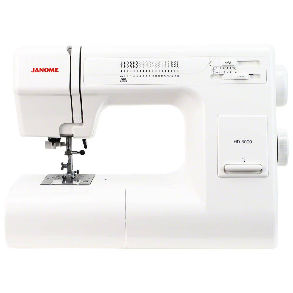 Janome hd3000 heavy duty sewing machine sewing parts online for Janome hd3000