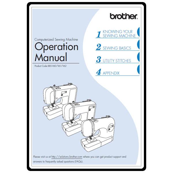 brother sewing machine maintenance manual