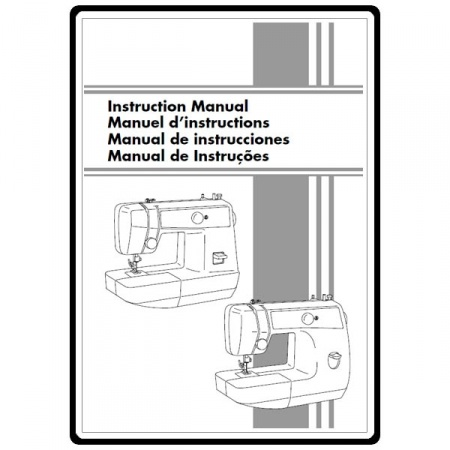 Instruction Manual, Brother Ls-2125 : Sewing Parts Online