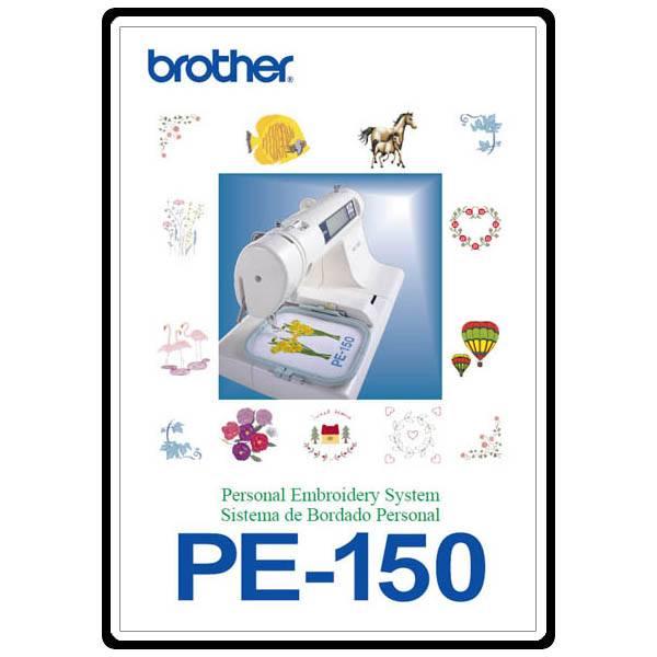 pe 150 embroidery machine