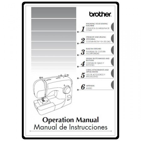 Instruction Manual, Brother Xl-2600I : Sewing Parts Online