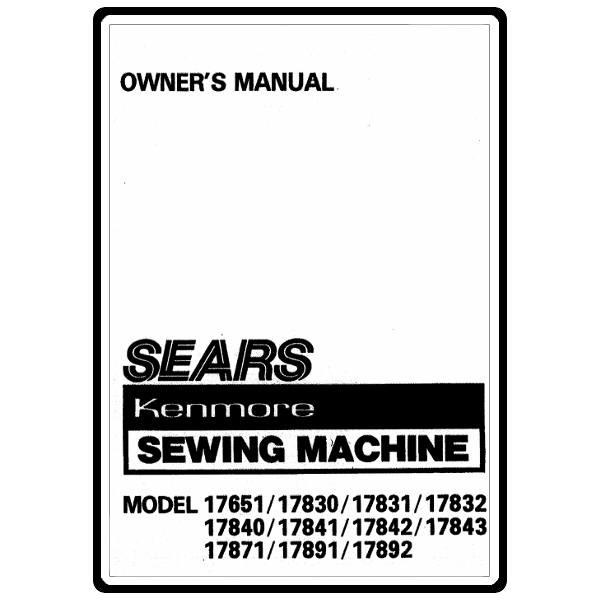 kenmore 158 sewing machine repair manual