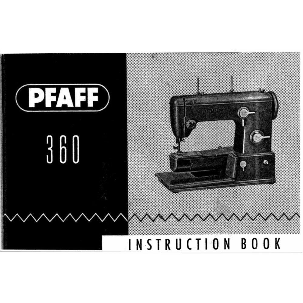 pfaff 360 sewing machine