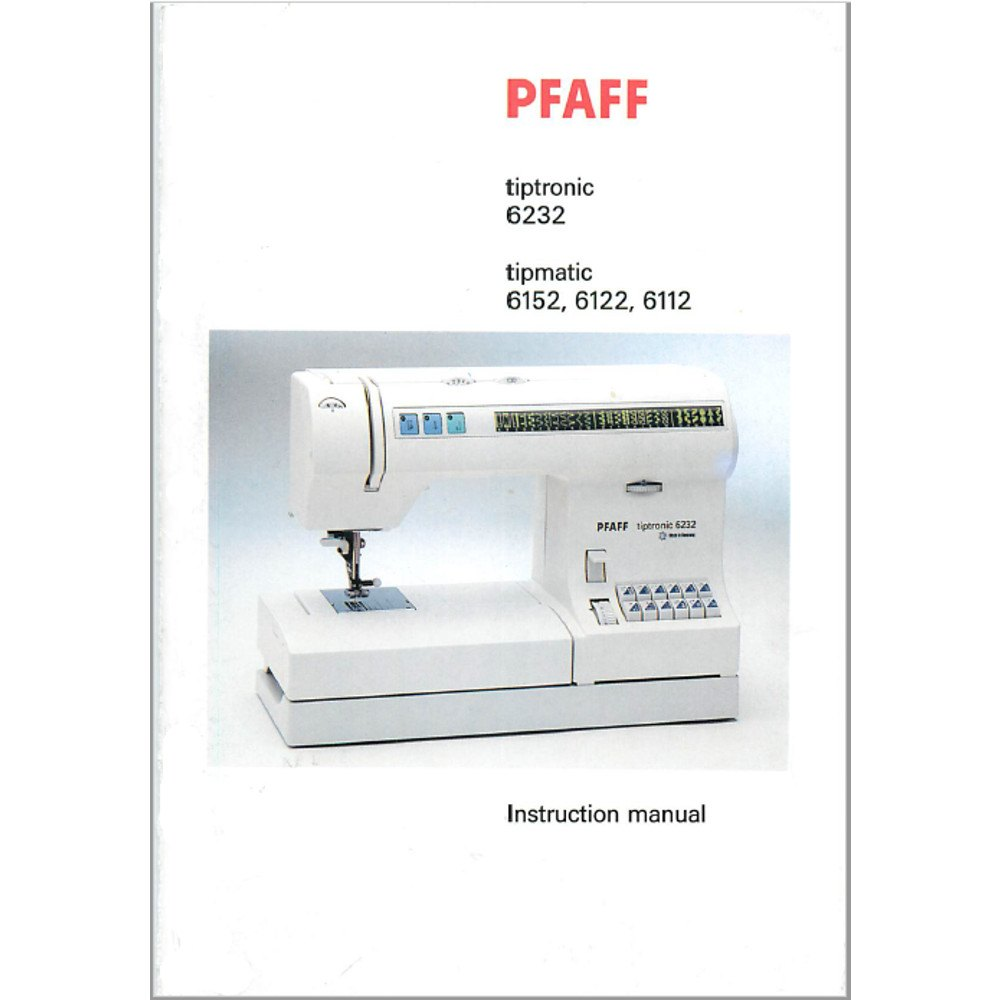 Инструкция для pfaff tipmatic 6122