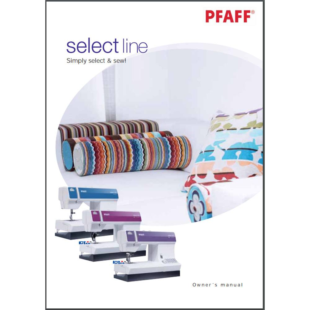 Instruction Manual, Pfaff Select 4.0 : Sewing Parts Online