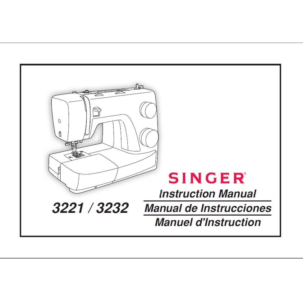 singer 3221 sewing machine