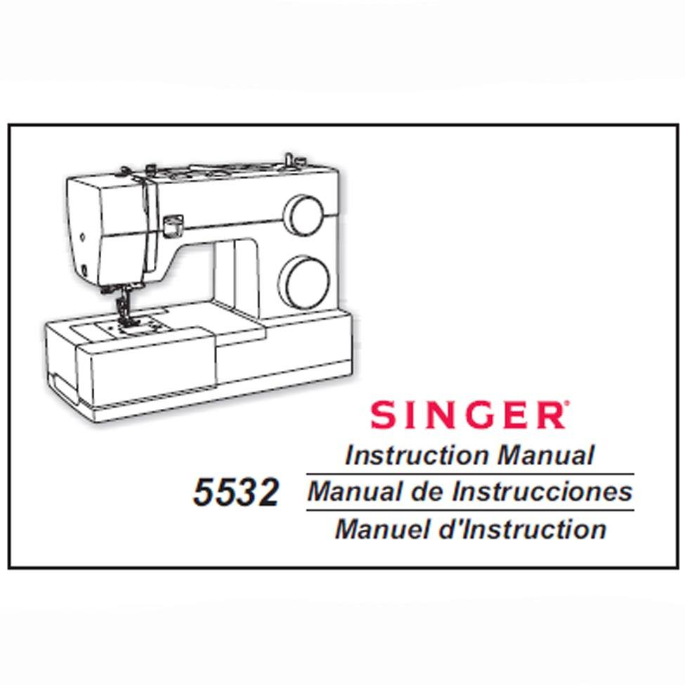 singer 5532 sewing machine