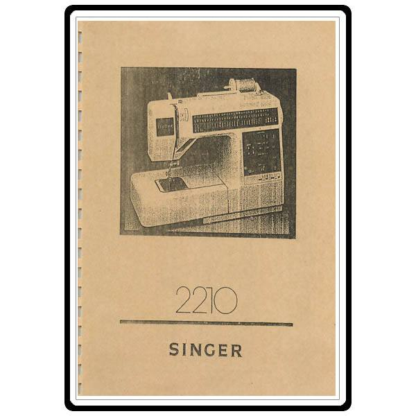 singer sewing machine model 2210