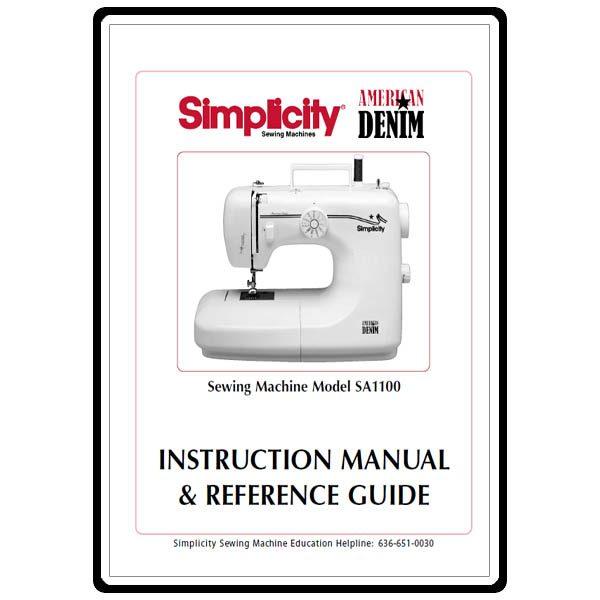 viking husqvarna 1100 sewing machine manual