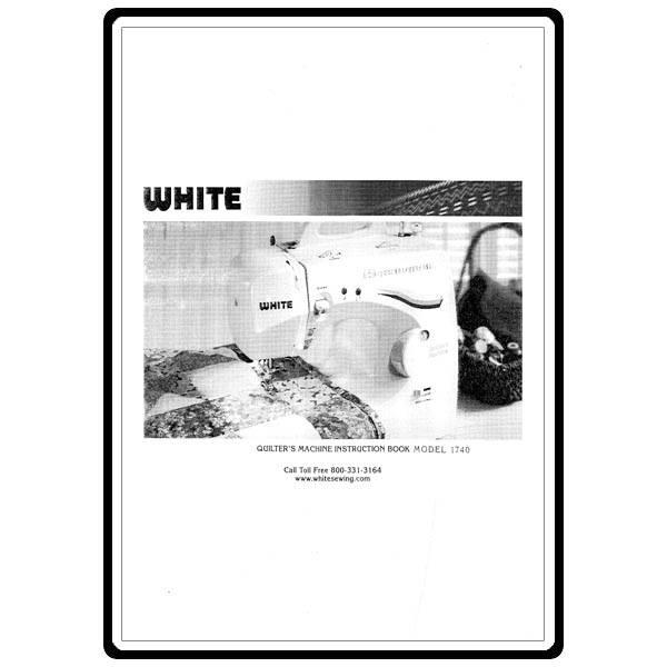 white sewing machine parts