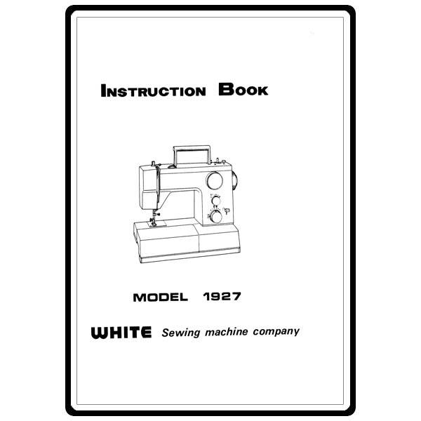 white sewing machine parts list