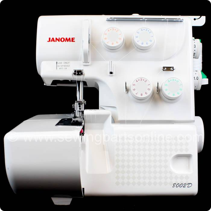 Janome 8002d Serger Sewing Parts Online