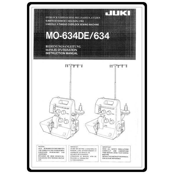 juki sewing machine repair manual
