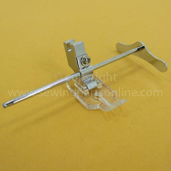 1 4 Quot Clear Foot W Guide Slant Shank P60606 G Sewing