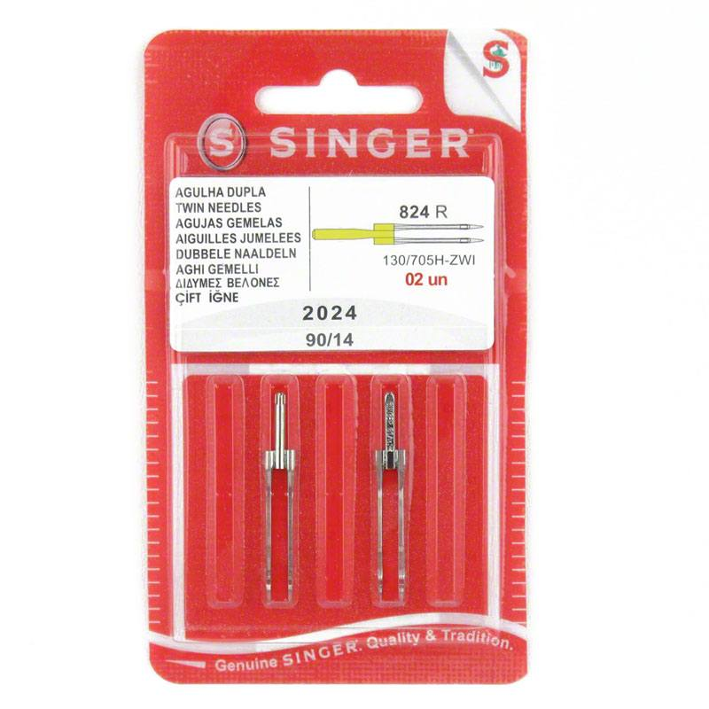 4mm Twin Needles Singer Size 90 14 S2024 14 Sewing