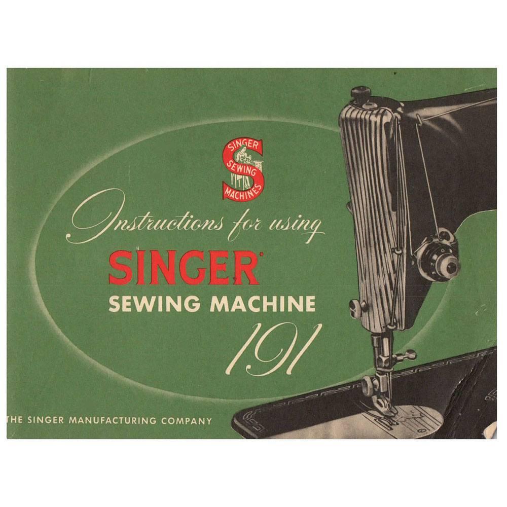singer sewing machine maintenance manual
