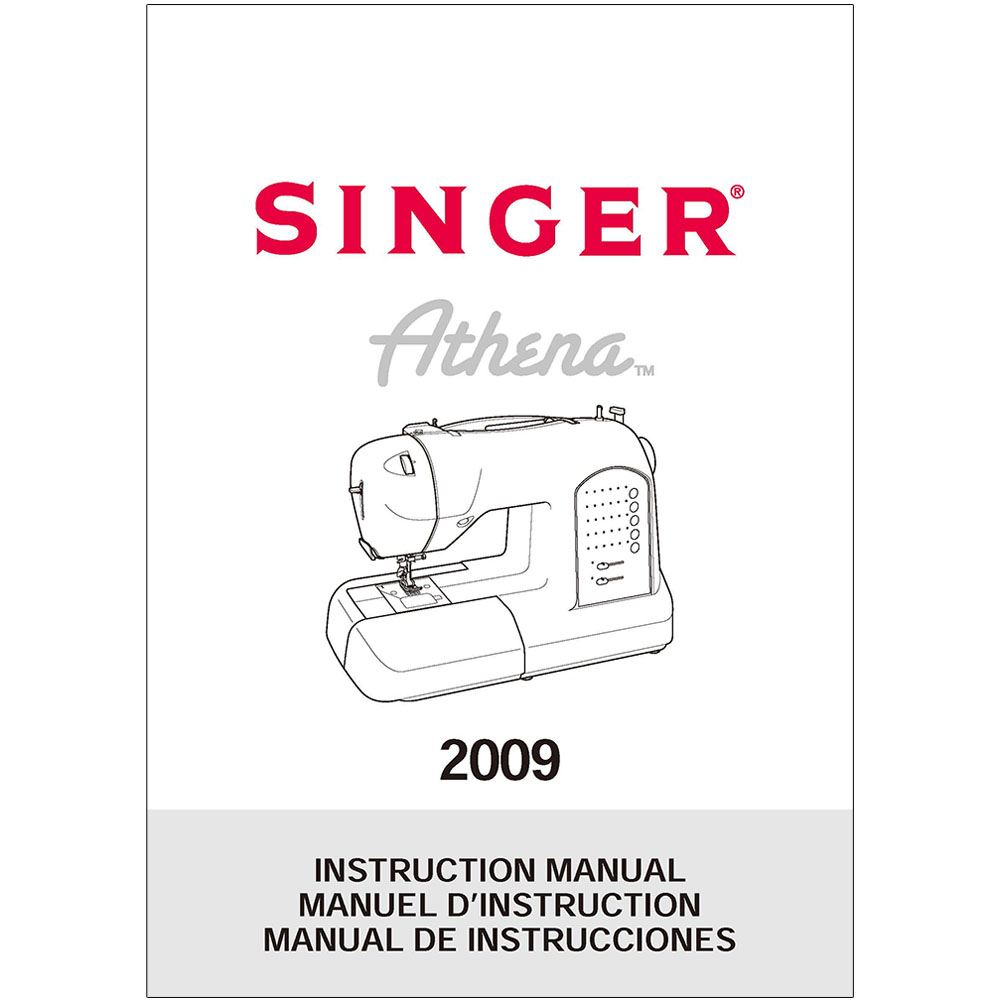Singer Athena 2009 Sewing Machine Manual Good Owner Guide Website Pedal Wiring Diagram Instruction Parts Online Repair Diagrams 2