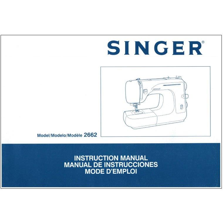 singer sewing machine 2662