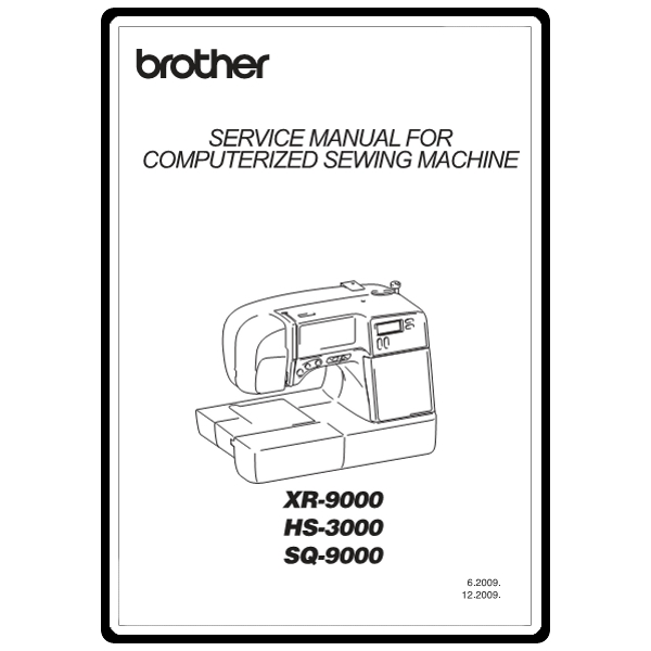 Brother Sq 9000 Repair Manual